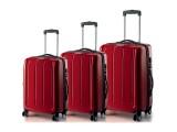 ADVENTURA Spinner Trolley Set 79/65/55 cm (červená)