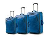 TRIBE Trolley Set 72/65/50cm (světle modrá)